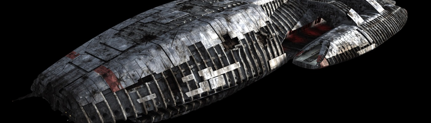 The Battlestar Galactica.