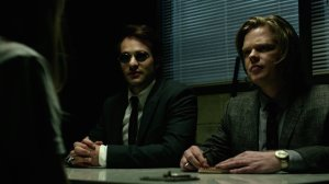 Matt Murdock and Foggy Nelson.