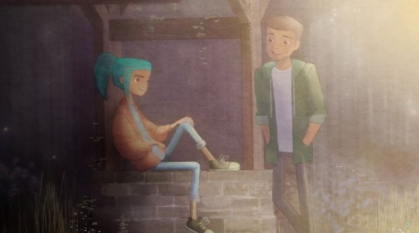 Alex and Mike from Oxenfree.