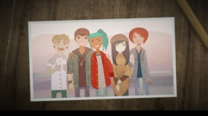 The Cast of Oxenfree.