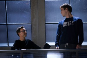 Harrison Wells Barry Allen The Flash