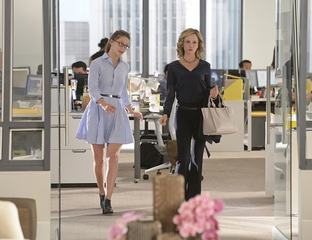 Kara Danvers and Cat Grant