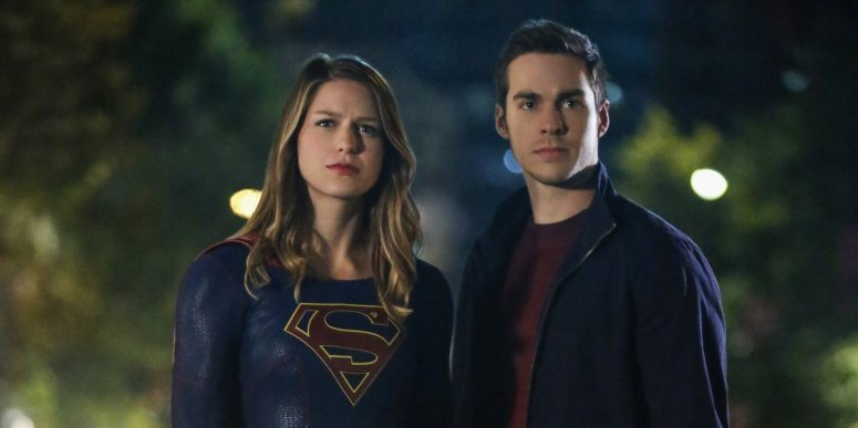 Supergirl and Mon-El