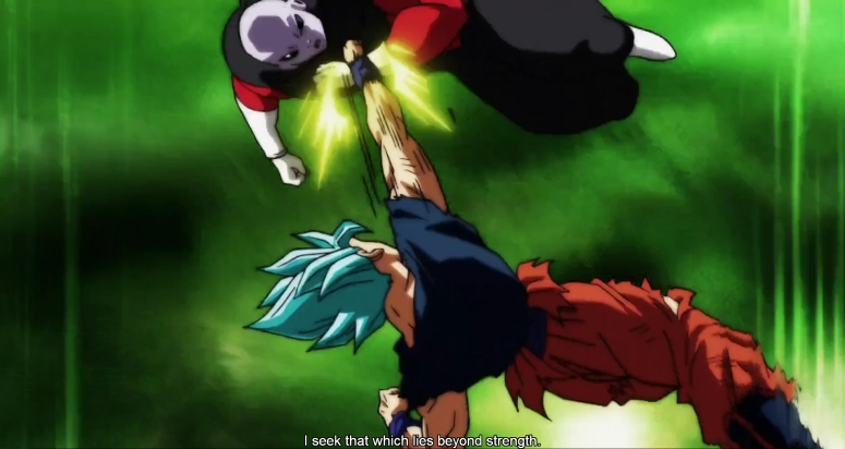 Jiren Battles Goku