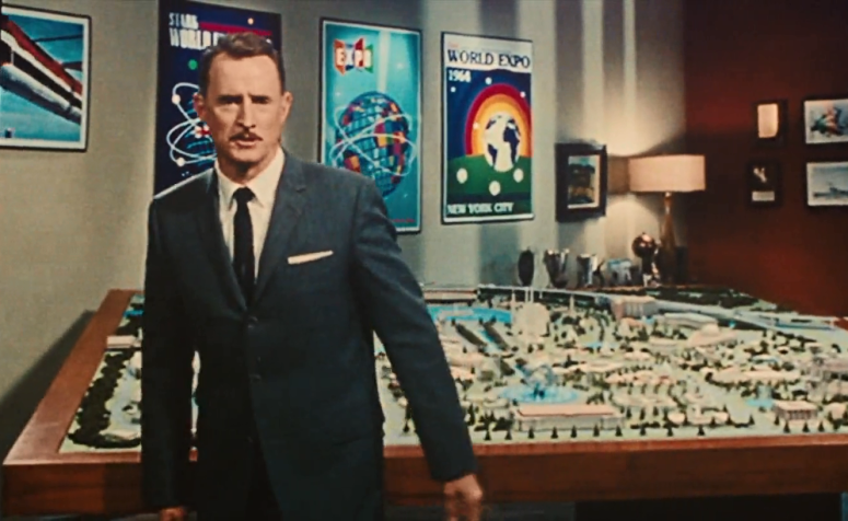 Howard Stark and the City of the Future in Iron Man 2 (2010