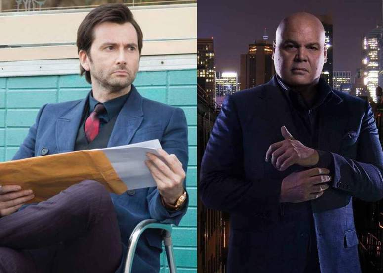 Kilgrave and Kingpin Marvel on Netflix