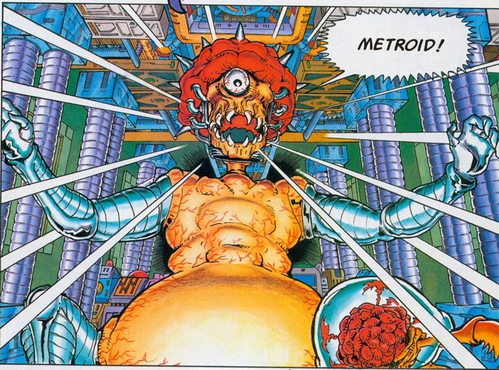 Mother Brain in Metroid Comics