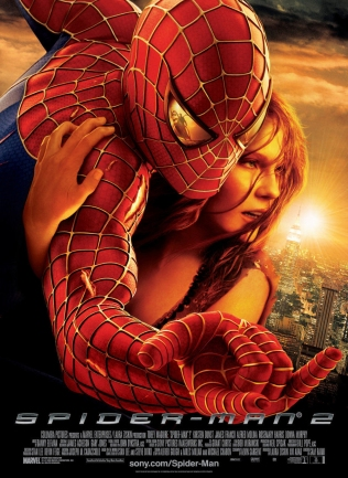 Spider-Man 2 Movie Poster (2004).
