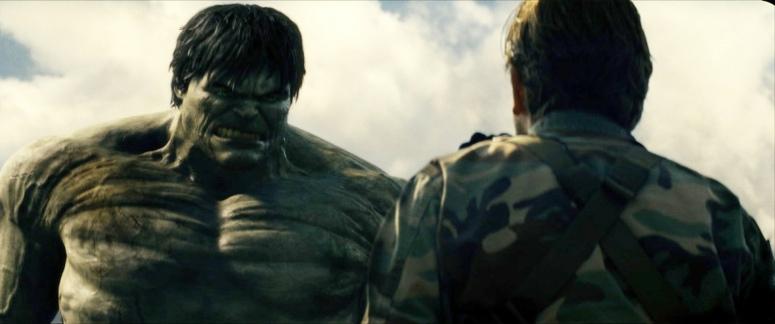 The Incredible Hulk movie (2008).