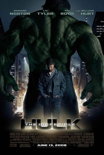 The Incredible Hulk poster (2008).