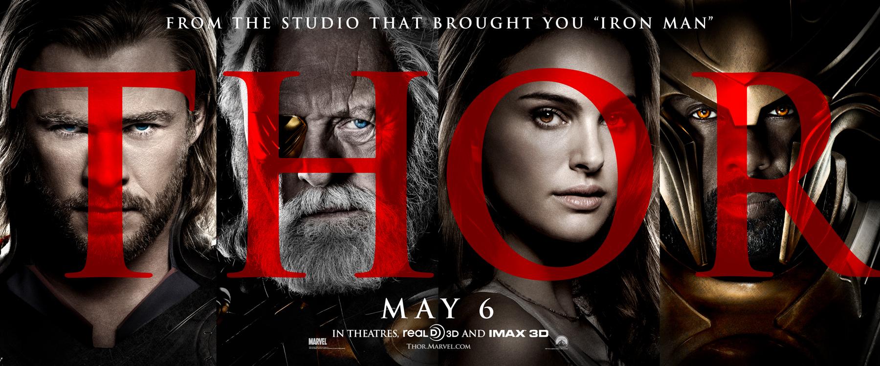 Resultado de imagem para thor movie banner