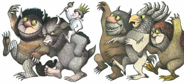 Where the Wild Things Are Book Illustration
