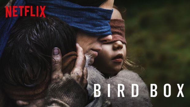 Netflix's Bird Box banner.