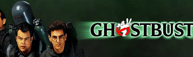 The Ghosbusters 2 banner.