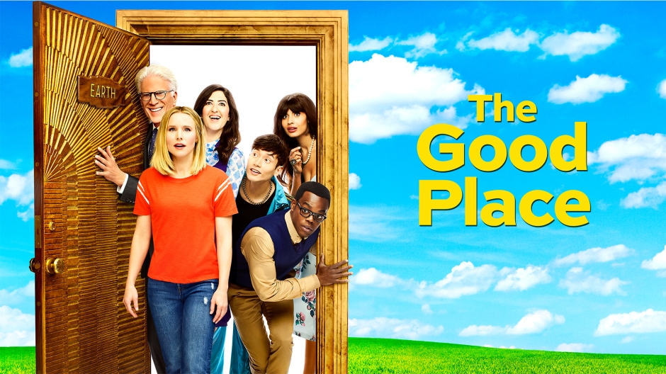 The Good Place banner.